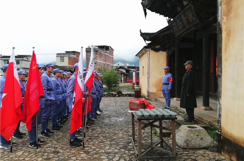 中央苏区红色文化培训现场教学图
